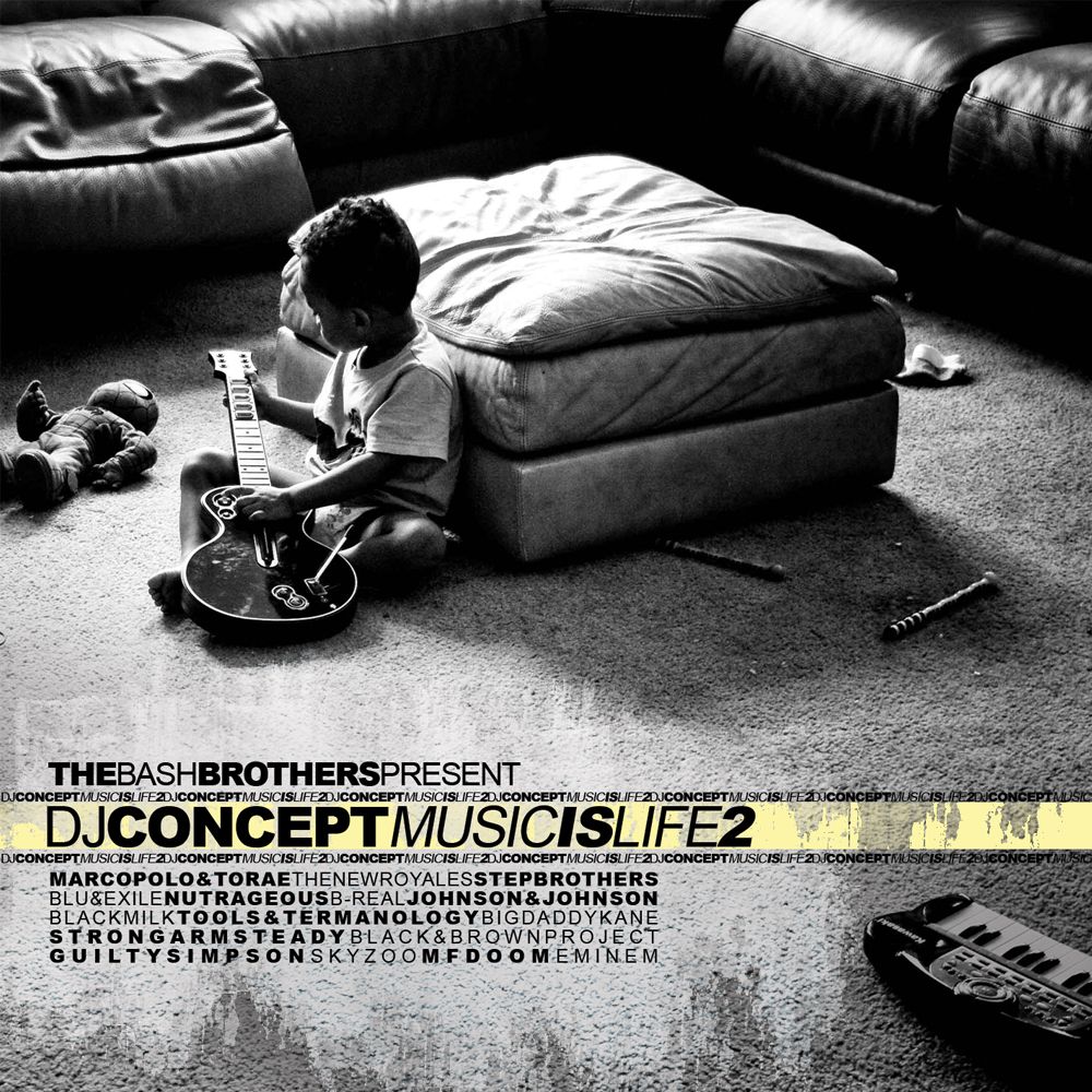 DJ Concept - Music Is Life 2