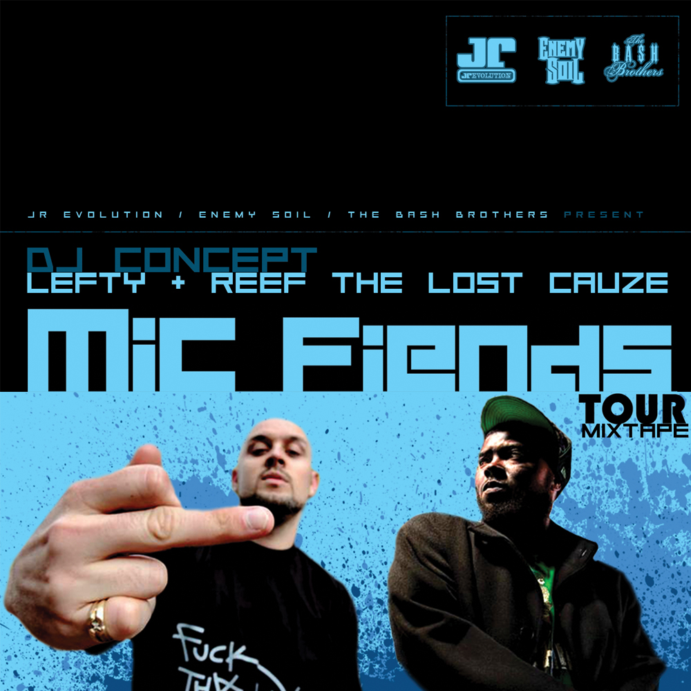 DJ Concept - Mic Fiends Tour Mixtape