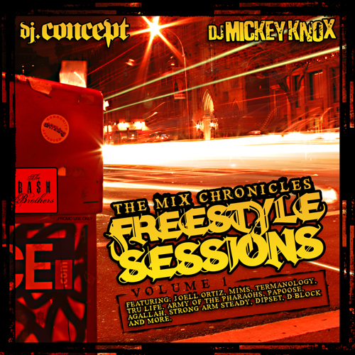 DJ Concept & DJ Mickey Knox - The Mix Chronicles Freestyle Sessions
