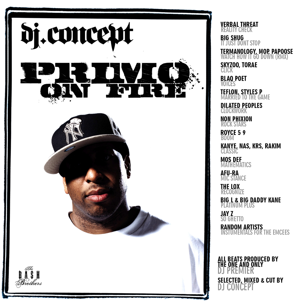 DJ Concept - Primo On Fire